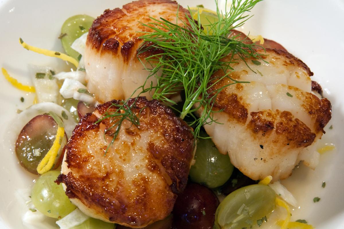 Seared Scallops & Rookery Pub Fine Dining - TripAdvisor\u0027s #1 Rated Cable/Hayward Area ...